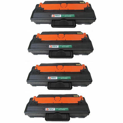4PK Black MLT-D103L High Yield Toner for Samsung ML-2955DW ML-2955ND SCX-4729FW