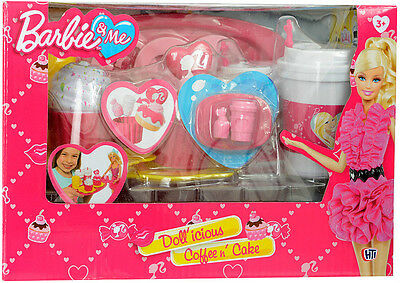 Barbie Dollicious Coffee and Cake Girls - Barbie Breakfast Set ** GREAT GIFT **