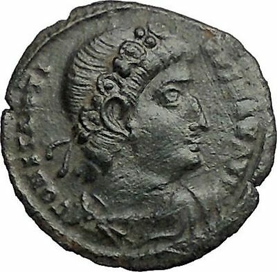 CONSTANTINE I the GREAT 330AD Ancient Roman Coin Glory of the Army  i56101