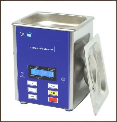 Derui watch jewelry pcb ultrasonic cleaner DR-LD20 2L&  BASKET,FREE SHIPPING