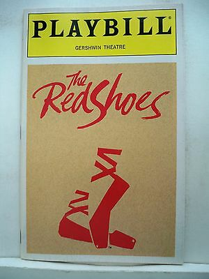 THE RED SHOES Playbill STEVE BARTON / JULE STYNE Opening Night FLOP NYC 1993