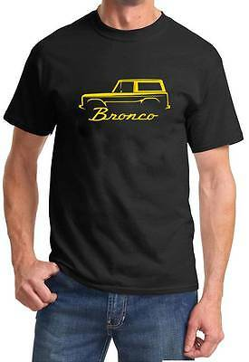 1966-77 Ford Bronco Classic Truck 4x4 Color Tshirt NEW FREE SHIPPING