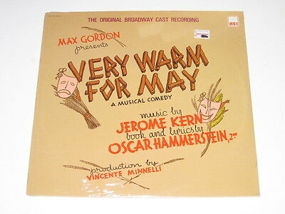 Very Warm For May - SEALED Musical LP - Jerome Kern - Oscar Hammerstein 2nd