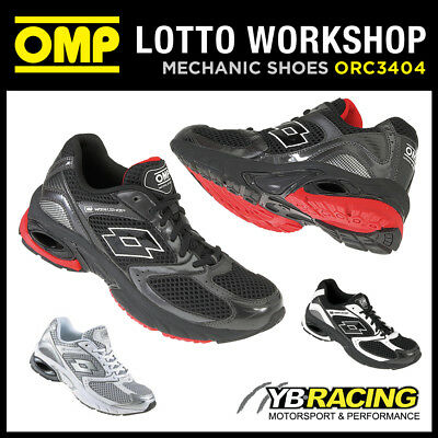 Orc3404 Omp Lotto Workshop Trainers Pit Crew Mechanic - 2 Colours! All Sizes!
