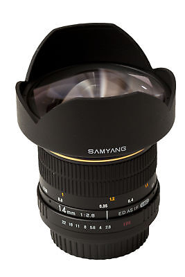 Nuevo Samyang 14Mm Ultra Wide-Angle F2.8 Ed As If Umc Objetivo Canon Mount