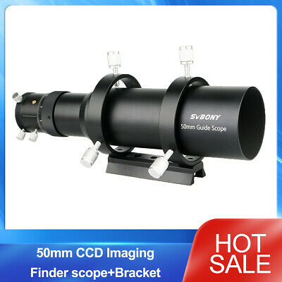 50mm CCD Imaging Guide Scope Finderscope w/ Bracket For Astronmical Telescope BC