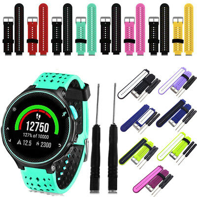 Soft Silicone Replacement Watch Band Strap For Garmin Forerunner 235 630 230 GB