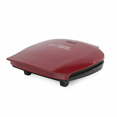 BRAND NEW: George Foreman 18872 5 Portion Family Grill in Red - FREE P&P