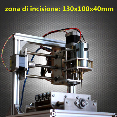 DIY 3 Axis Engraver Machine PCB Milling Wood Carving Engraving Router Kit CNC