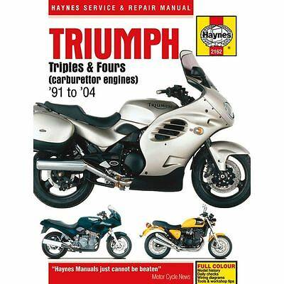 Manual Haynes for 2002 Triumph Trophy 1200 (4 Cylinder)