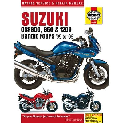Manual Haynes for 2006 Suzuki GSF 650 SA-K6 'Bandit' (Faired/ABS)