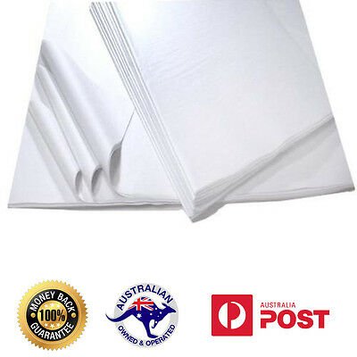 Acid Free Tissue Paper 400x660- 1000 Sheets White 18gsm Food Grade