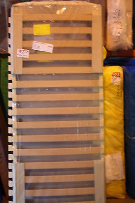 PAIR OF 80X200 /160X200CM/ BRONZE Slatted Bed Frame *BRAND NEW*