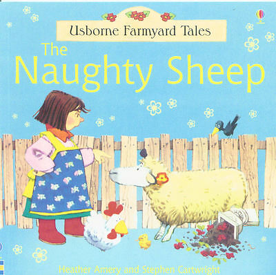 Young Children's Picture Story Book: Usborne Farmyard Tales - The Naughty Sheep