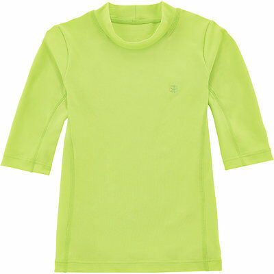 Coolibar UPF 50+ Kids' Short Sleeve Surf Shirt