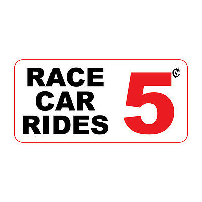 feb9f75a231b92 Race Car Rides 5C Custom Retro Vintage Style Metal Sign - 8 In X 12 In
