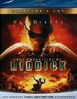 Blu Ray The Chronicles Of Riddick (Limited Reel Heroes Edition) (Slipcase) ..NEW