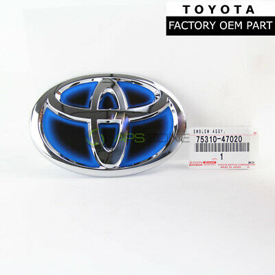 Genuine Toyota Highlander Prius Rear Emblem Lift Gate Trunk Oem 75310-47020