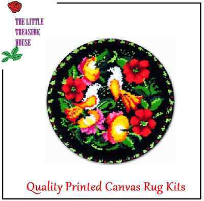 Classic Birds Latch Hook Rug Kit - Rug Making - Everything included