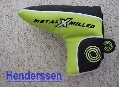 Odyssey Metal X Milled Boot/blade Magnetic Closure Putter Head Cover