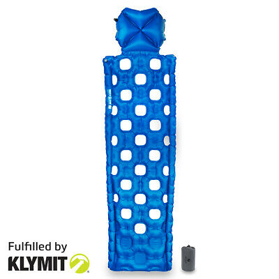 KLYMIT Ozone Sleeping Pad Lightweight Camping Pad - FACTORY REFURBISHED