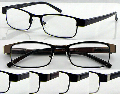 L419 Superb Quality Metal Reading Glasses Spring Hinges Classic & Fashion Style