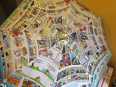 The Wisconsin State Journal Newspaper Comic Strip Collectible Umbrella