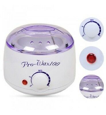 Wax Pot Heater Warmer All Waxes Melter Temperature Dial Salon Professional 500ml