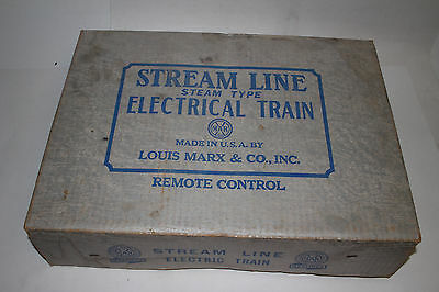1950's Marx Steam Type Electric Train Set #4822 with Box