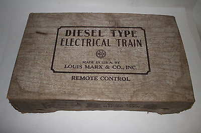 1950's Marx Steam Type Electric Train Set #9522 with Box