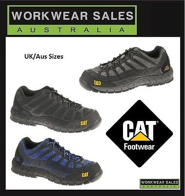 Caterpillar Cat Streamline Composite Toe Mens Work/safety/shoes/boots Uk Sizing.