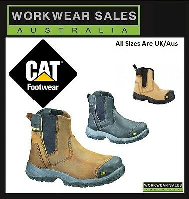 Caterpillar Cat Propane Mens Steel Toe Work/safety Boots/shoes Durable Workboots
