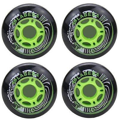 DZ927* PU Replacement Wheels For Rollerblade Skating Inline Skate Shoes 80mm 4PC