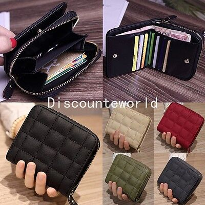 Fashion Womens Girls Leather Wallet Card Holder Coin Purse Clutch Handbag Small