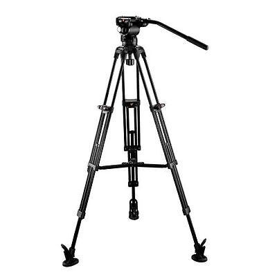 Eimage flat head+support + tripod system Payload 5kg with middle spreader EG03A3