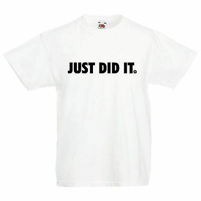 Kids 'JUST DID IT' One Direction Jay-z Snoop Nike just do it inspired T Shirt
