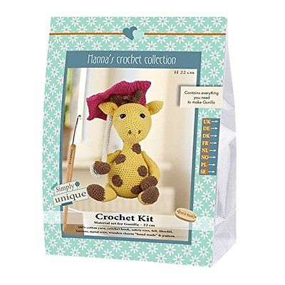 Go Handmade Gunilla The Giraffe 22cm Crochet Needlework Complete Kit!