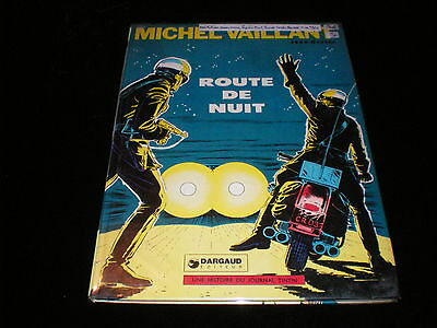 Jean Graton : Michel Vaillant 4 : Route de nuit Editions Dargaud 1975 couverte