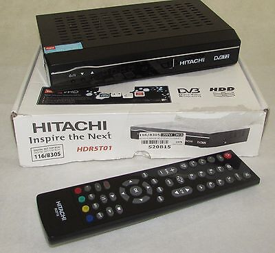 Hitachi HDR5T01 Freeview HD Smart Digital TV Recorder (BOXED) IP812