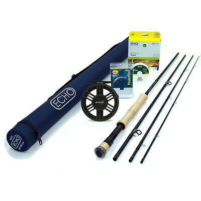 Echo Base 890-4 Fly Rod Outfit FREE SHIPPING IN THE US
