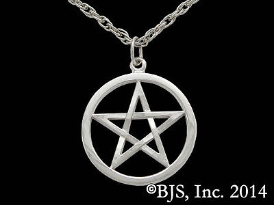 Harry Dresden's Pentacle Necklace, Silver Dresden Files Jewelry, Jim Butcher