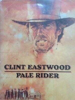 Pale Rider Press Kit Rare, Clint Eastwood, Sydney Penny, Michael Moriarty