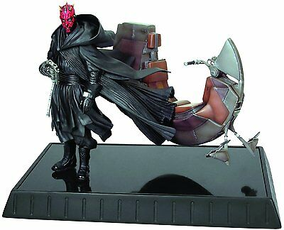 Darth Maul Bloodfin Figure Statue Star Wars Ep1 Phantom Menace Toy Collectible