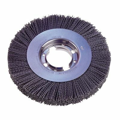 "Osborn 22285 6"" x 80 Grit ATB Wide Face Flex Nylon Abrasive Brush"