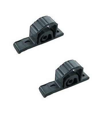 Pair of Rear Exhaust Rubber Hanger Bmw Mini One Cooper Mount Silencer 255-219