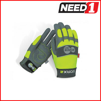 Force360 Worx 2 Original Hi-Vis Mechanics Safety Glove