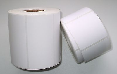 6000 QUALITY DIRECT THERMAL LABELS - 80mm x 80mm