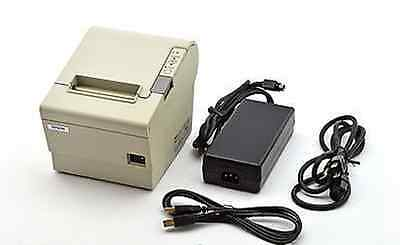 Epson TM-T88IV M129 POS USB Thermal Receipt Printer With Power Supply USB Cable