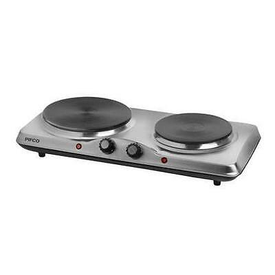 Pifco Stainless Steel Electric Double Boiling Ring / Portable Hob - P15004