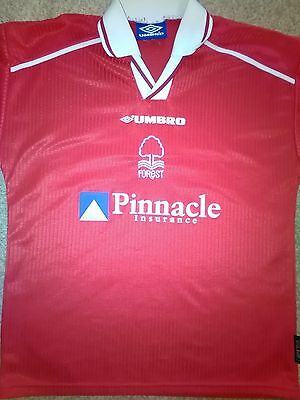 Nottingham Forest Hand Signed 1998-2000 Football Shirt AFTAL COA